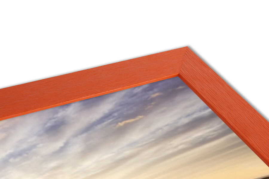 Lavendar Field Sunset Poster