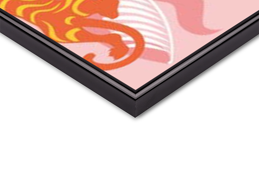 Fine Art Print Hot Pink Tiger