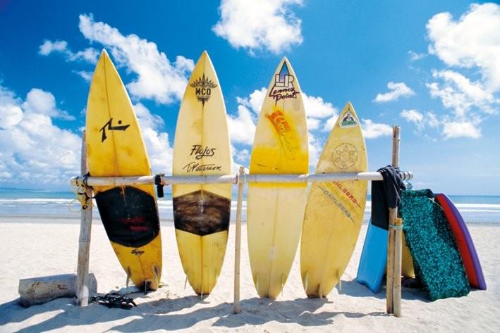 Sun sea surf Poster
