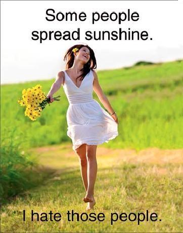 Spread Sunshine Metal Sign