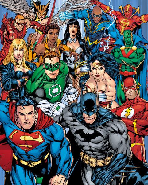 DC Comics Cast Poster