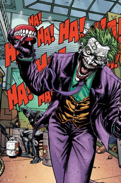 DC Comics Joker Forever Evil Poster