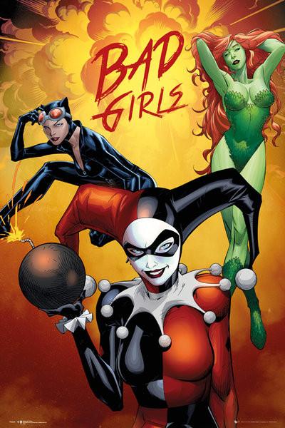 DC Comics Badgirls Group Poster