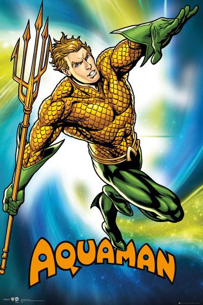 DC Comics Aquaman Poster
