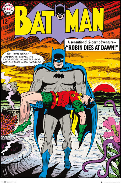 Batman Comic Robin Dies at Dawn Poster