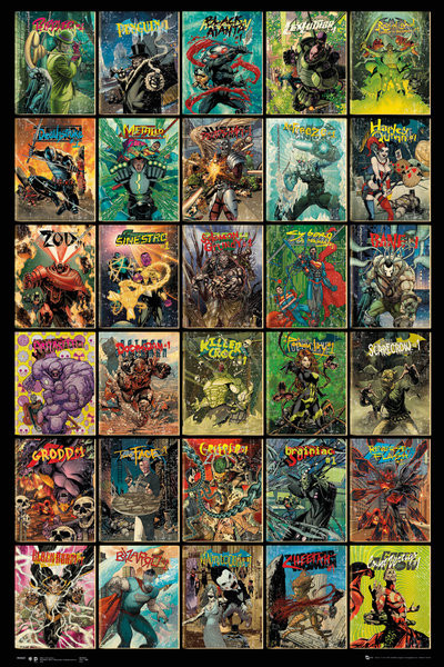 DC Comics Forever Evil Compilation Poster