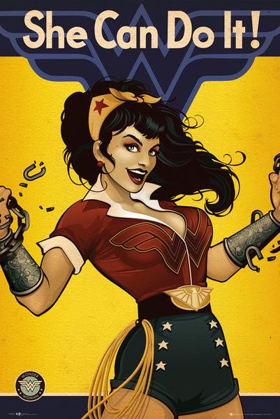 DC Comics Wonder Woman Bombshell Poster