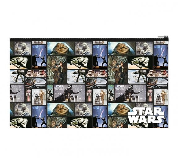 Star Wars Blocks Flat Pencil Case Stationery