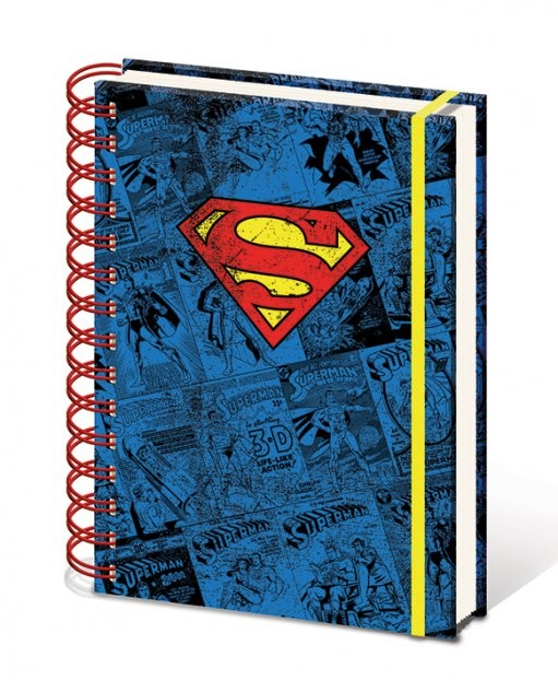 Dc Comics A5 Notebook Superman Stationery