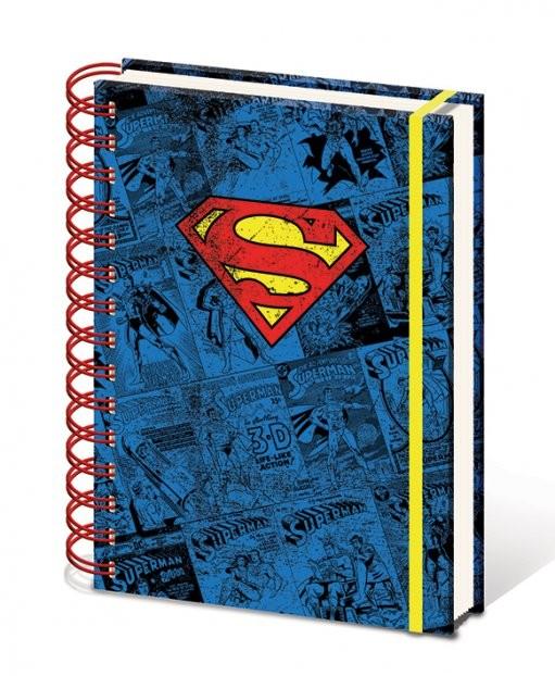 Dc Comics A5 Notebook Superman Stationery