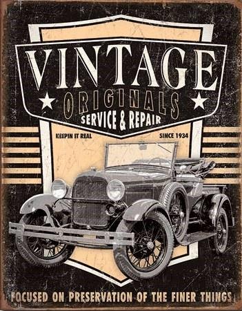 Vintage Originals Pickup Metal Sign