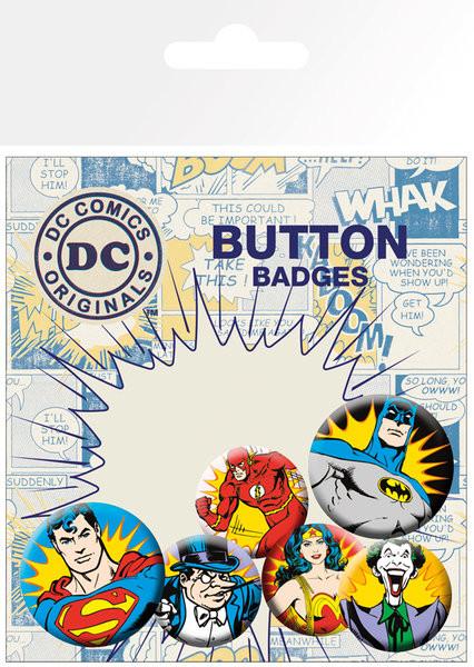 DC Comics Heroes Villains