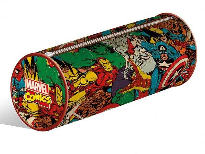 Marvel Retro Collage pencil case Stationery