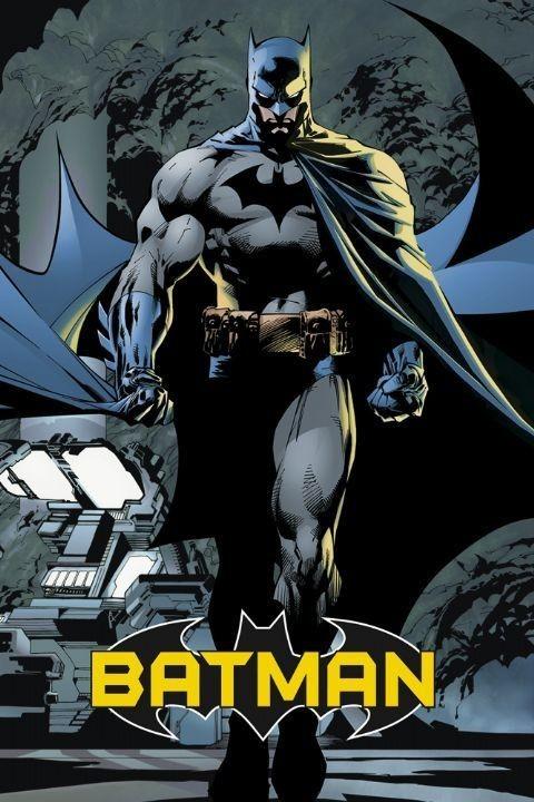 BATMAN comic Poster