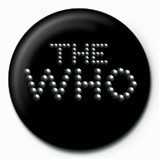 WHO pinball logo Badge