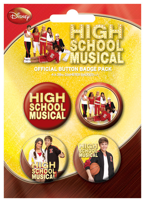 HIGH SCHOOL MUSICAL gym Badge Pack