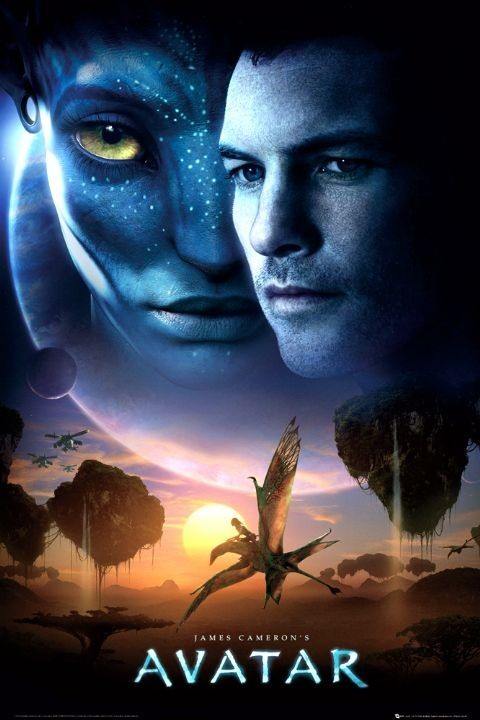 AVATAR limited ed one sheet sun Poster