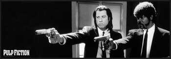 Pulp Fiction - b&w guns posters | photos | pictures | images