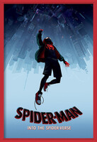 Spider-Man: Into The Spider-Verse – Fall Framed Poster