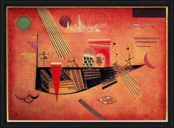 Wassily Kandinsky - Whimsical Framed Poster