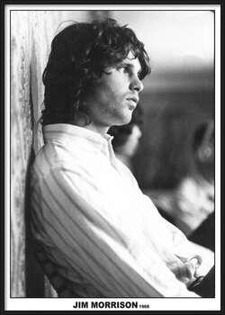 Framed Poster Jim Morrison - The Doors 1968