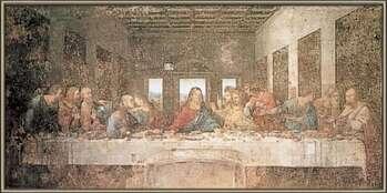 Framed Poster The Last Supper