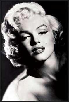 Framed Poster Marilyn Monroe - glamour