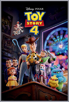 Framed Poster Toy Story 4 - Antique Shop Anarchy
