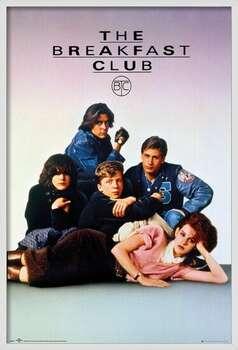 Framed Poster The Breakfast Club - Key Art