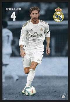 Framed Poster Real Madrid 2019/2020 - Sergio Ramos
