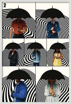 Framed Poster The Umbrella Academy - Family