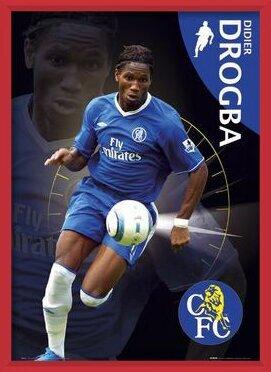 Chelsea - Drogba Poster