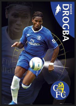 Chelsea - Drogba Poster