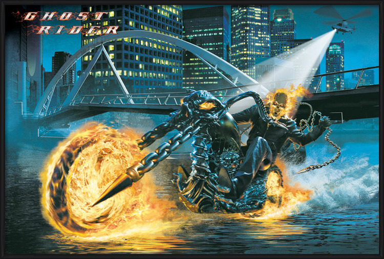 GHOST RIDER - riding Poster