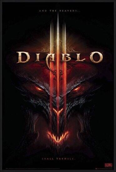 Diablo III - the heavens shall  Poster