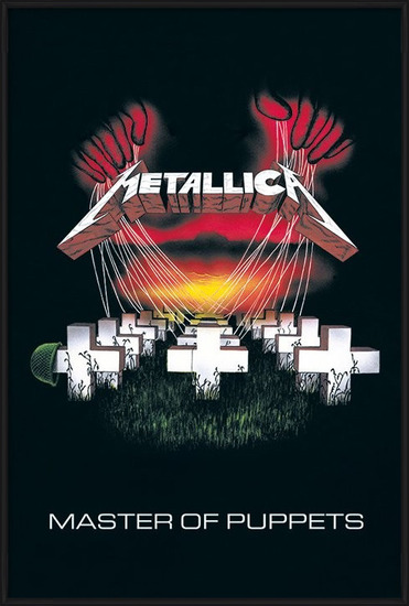Metallica - master of puppets Poster