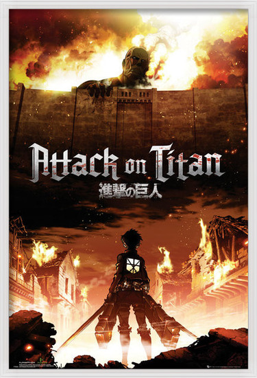Attack on Titan (Shingeki no kyojin) - Key Art Poster