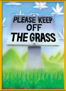 Keep of the grass Poster