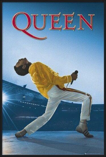 Queen - wembley Poster