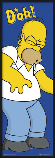 THE SIMPSONS - d'oh! Poster
