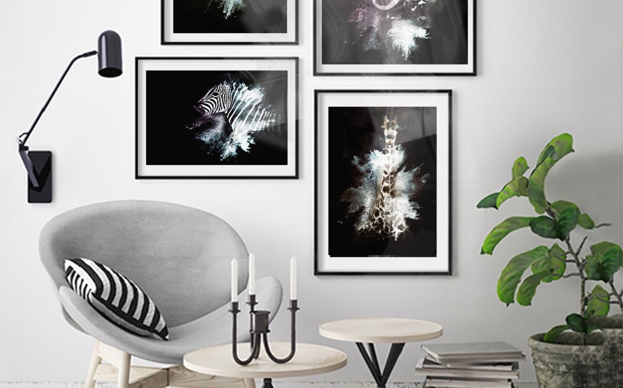 Art Print on Demand The Zebra