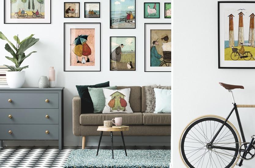 Sam Toft - Taking the Girls Home Art Print