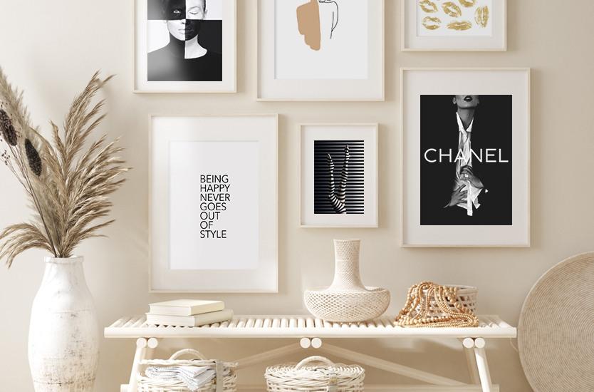 Illustration Chanel model